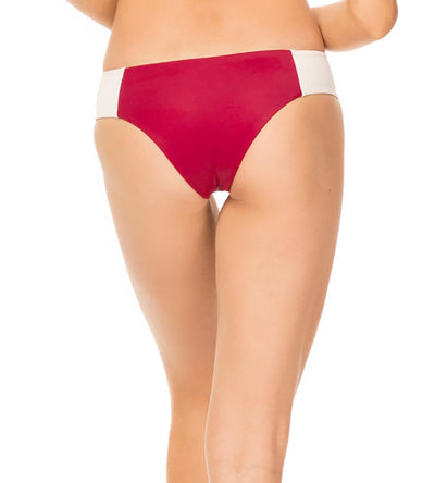 CRANBERRY CARIBBEAN COLOR BLOCK MACIE BOTTOM TORI PRAVER 1R19SBMCCB-CRN