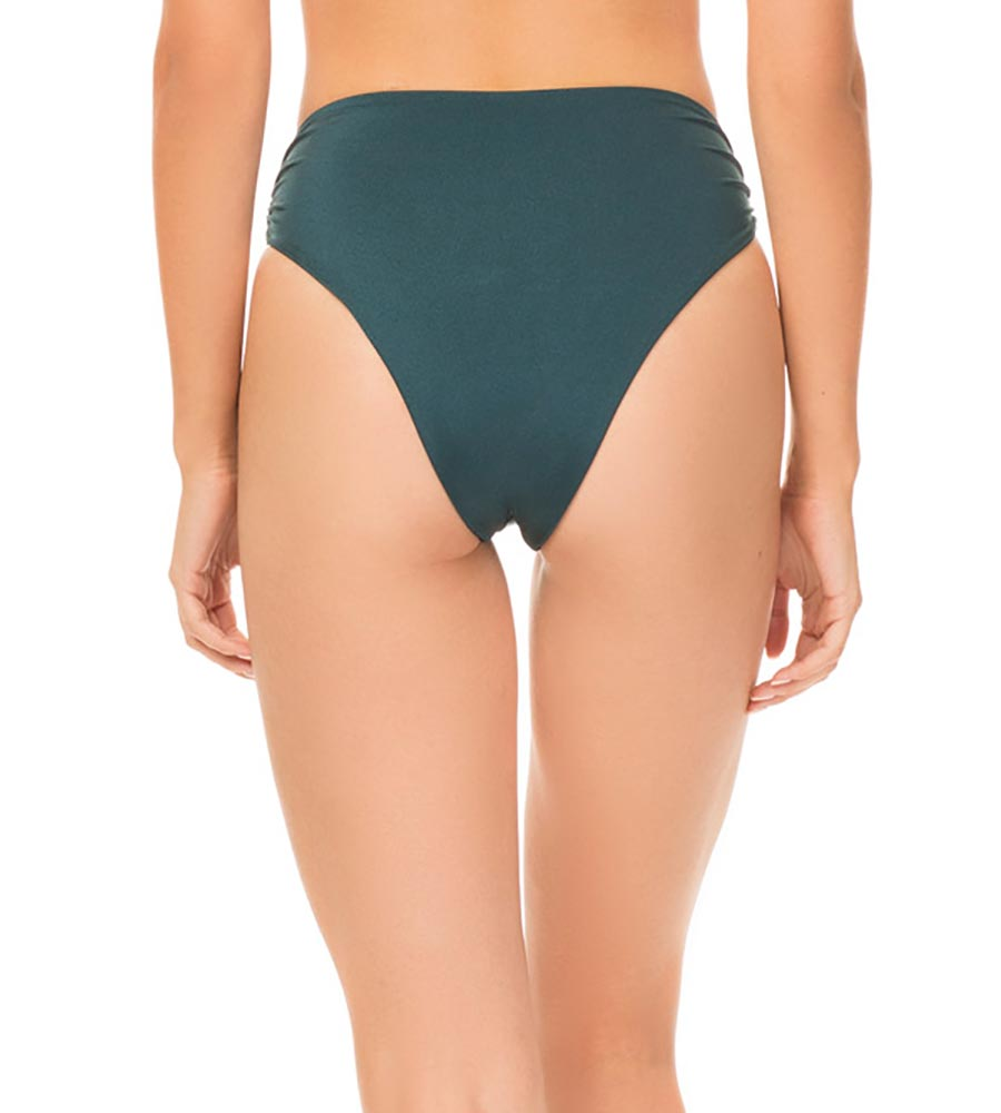 MIDNIGHT TEAL SHINY SOLIDS SYMONE BOTTOM BY TORI PRAVER