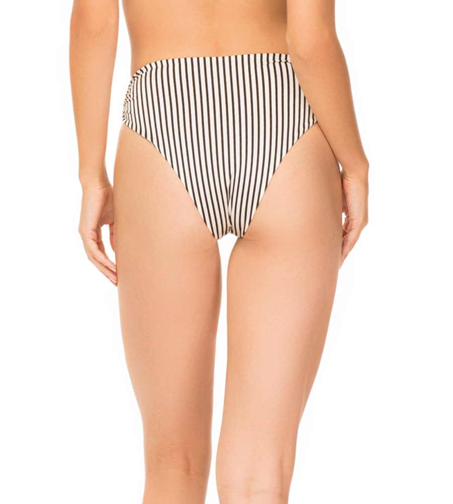 BLACK CABANA STRIPE SYMONE BOTTOM BY TORI PRAVER