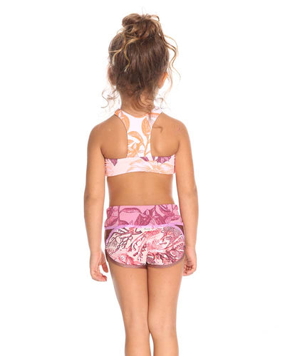SHINY CAMEL GIRLS SHORTS MAAJI 3095KKS01