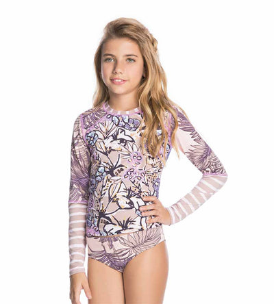 ACAI AND VIOLETS GIRLS RASHGUARD BIKINI MAAJI 3105KKB03