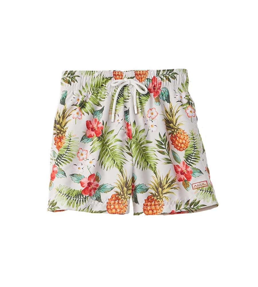 DON'T LEAF SWIM SHORTS AZUL 315
