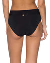 BLACK V-FRONT HIGH WAIST BOTTOM SUNSETS 31BBLCK