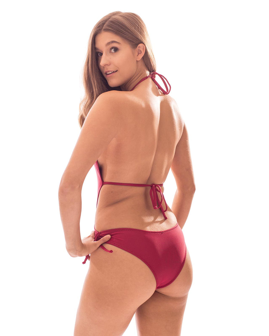 RED VELVET ONE PIECE BY BIKINIMA