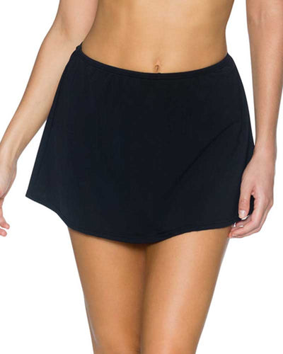 BLACK KOKOMO SWIM SKIRT BOTTOM SUNSETS 36BBLCK