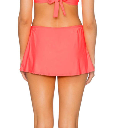 BRIGHT GUAVA KOKOMO SWIM SKIRT SUNSETS 36BBRGU