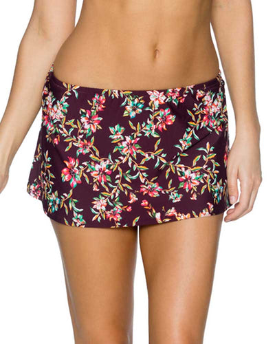 ROSEWOOD VINES KOKOMO SWIM SKIRT SUNSETS 36BROVI
