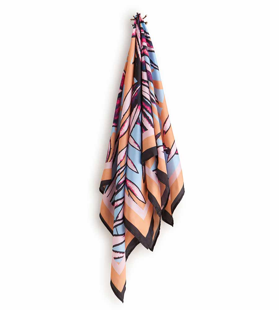 DREAM CASHER LARGE SATIN SCARF MAAJI 4019XVR02