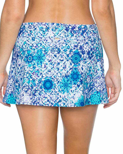 ODYSSEA SUMMER LOVIN SWIM SKIRT SUNSETS 41BODSE