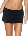 BLACK SIDEKICK SWIM SKIRT BOTTOM SUNSETS 49BBLCK