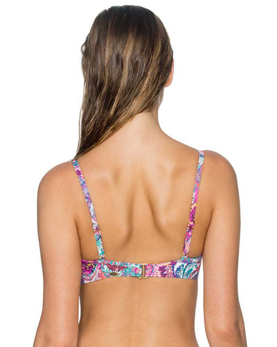 PAISLEY PEACOCK ICONIC TWIST TOP SUNSETS 55PAIS