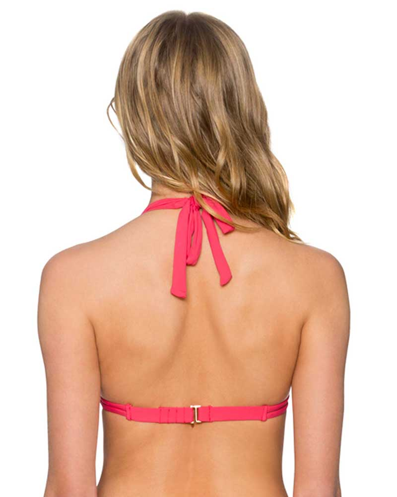LOVER'S CORAL MARILYN TOP BY SUNSETS