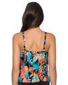 LORIKEET AVA TIERED TANKINI TOP SUNSETS 72LORI