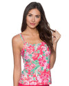 HONOLULU TAYLOR TANKINI TOP SUNSETS 75HNLU