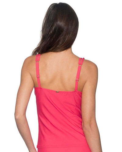 LOVER'S CORAL TAYLOR TANKINI TOP SUNSETS 75LVCO