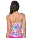 WHIMSY TAYLOR TANKINI TOP SUNSETS 75WHMY