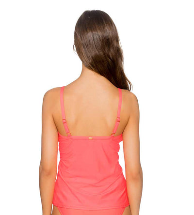 BRIGHT GUAVA FOREVER TANKINI TOP SUNSETS 77BRGU