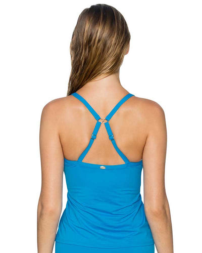 FRENCH BLUE FOREVER TANKINI TOP SUNSETS 77FRBL