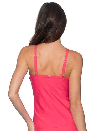 LOVER'S CORAL FOREVER TANKINI TOP SUNSETS 77LVCO