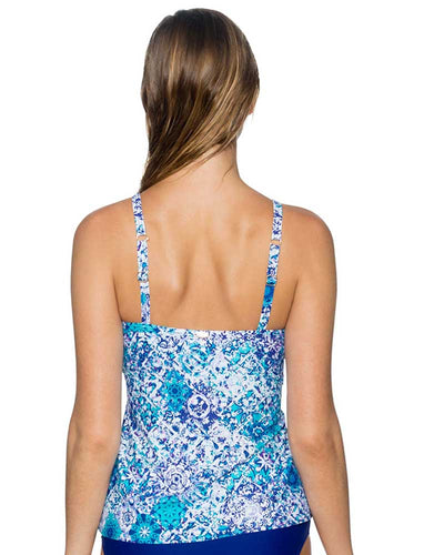 ODYSSEA FOREVER TANKINI TOP SUNSETS 77ODSE