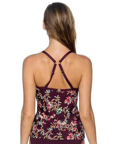 ROSEWOOD VINES FOREVER TANKINI TOP SUNSETS 77ROVI