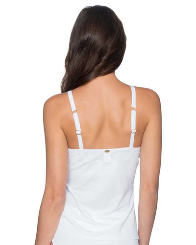 WHITE LILY FOREVER TANKINI TOP SUNSETS 77WHIT