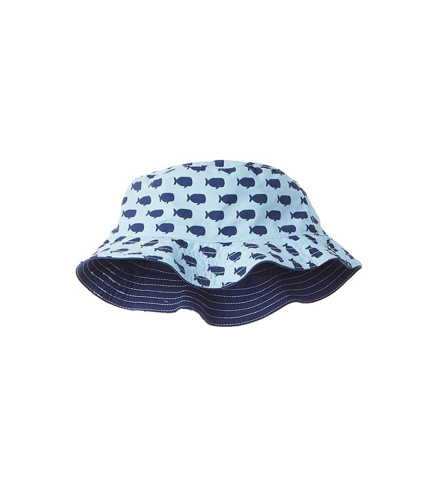 BLUE OH, WHALE HAT AZUL 8077-B