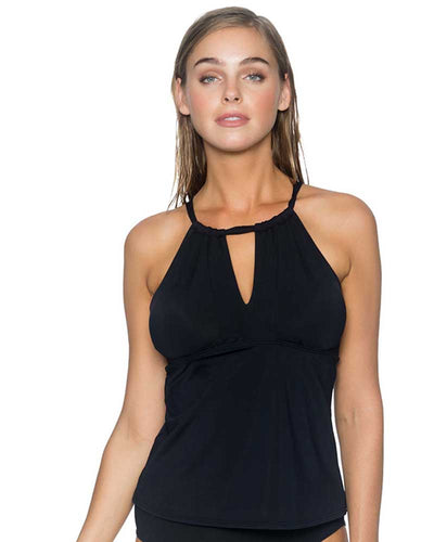 BLACK MIA TANKINI TOP SUNSETS 87TBLCK