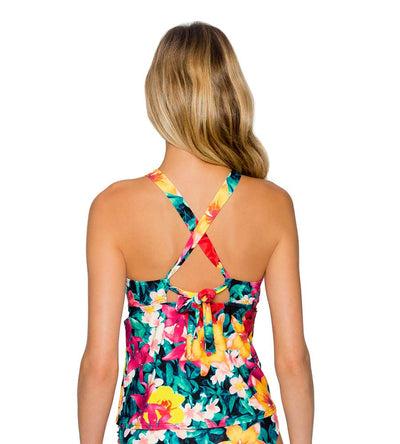 NATIVE BLOOMS MIA TANKINI TOP SUNSETS 87TNABL