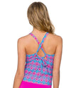 STAINED GLASS MIA TANKINI TOP SUNSETS 87TSTGL