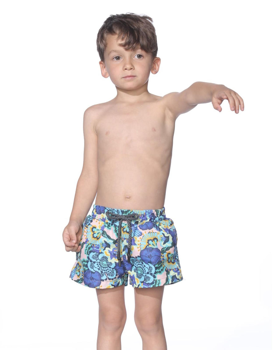 SUNSET PEAK BOYS SWIM SHORT MAAJI 9084TSK