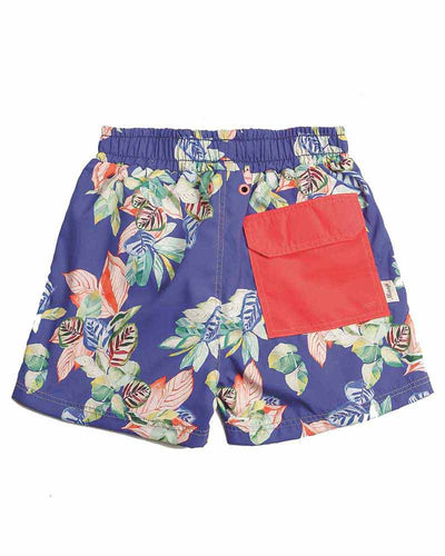 HOLLOW WAVE BOYS SWIM TRUNKS MAAJI 9086KST01