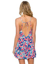 FLOWER BED RIVIERA DRESS SUNSETS 952FLBE