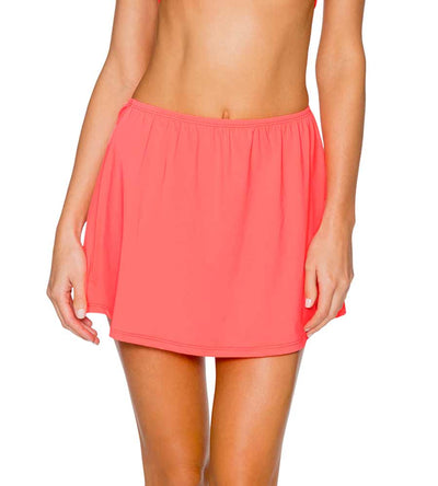 BRIGHT GUAVA DEL MAR COVER UP SKIRT SUNSETS 987BRGU
