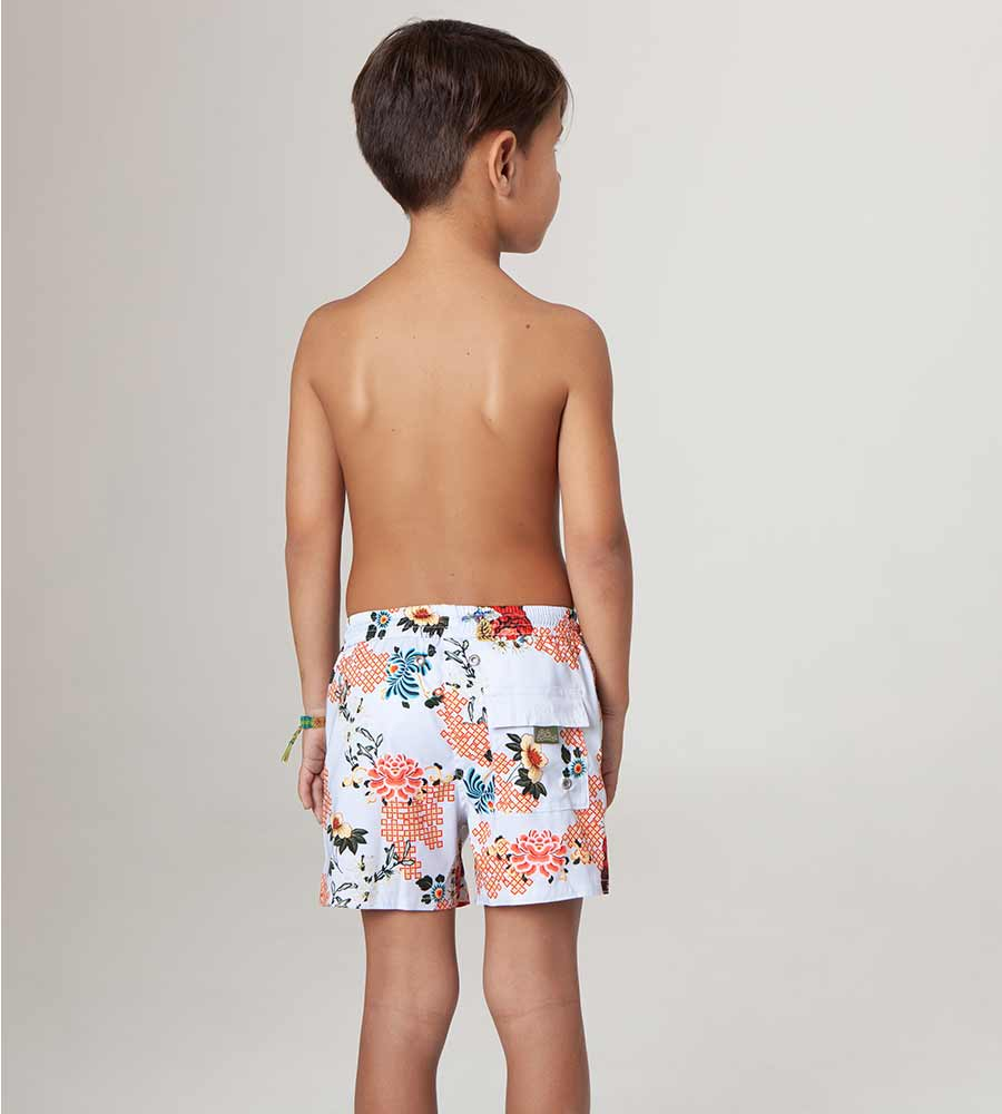 ALANYA NICK BOYS SWIM TRUNKS AGUA BENDITA AN2002520-1