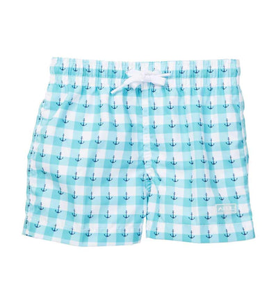 ANCHOR AWEIGH INFANT SWIM SHORTS AZUL AZ632