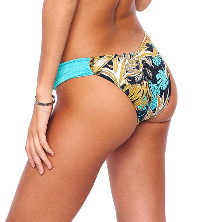 AQUA HYDRA OFF SHOULDER BIKINI BOTTOM SABZ B37-19