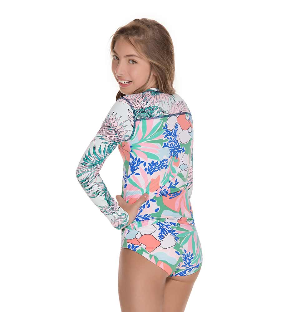 ATLANTIS HEIRESS GIRLS RASHGUARD SET MAAJI 3105KRS07