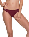 CHIEF FISHBONE MERLOT STRING SIDE BOTTOM MALAI B00330