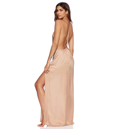 GOLD OMBRE ARIEL DRESS BEACH BUNNY B18103C4-GDOM