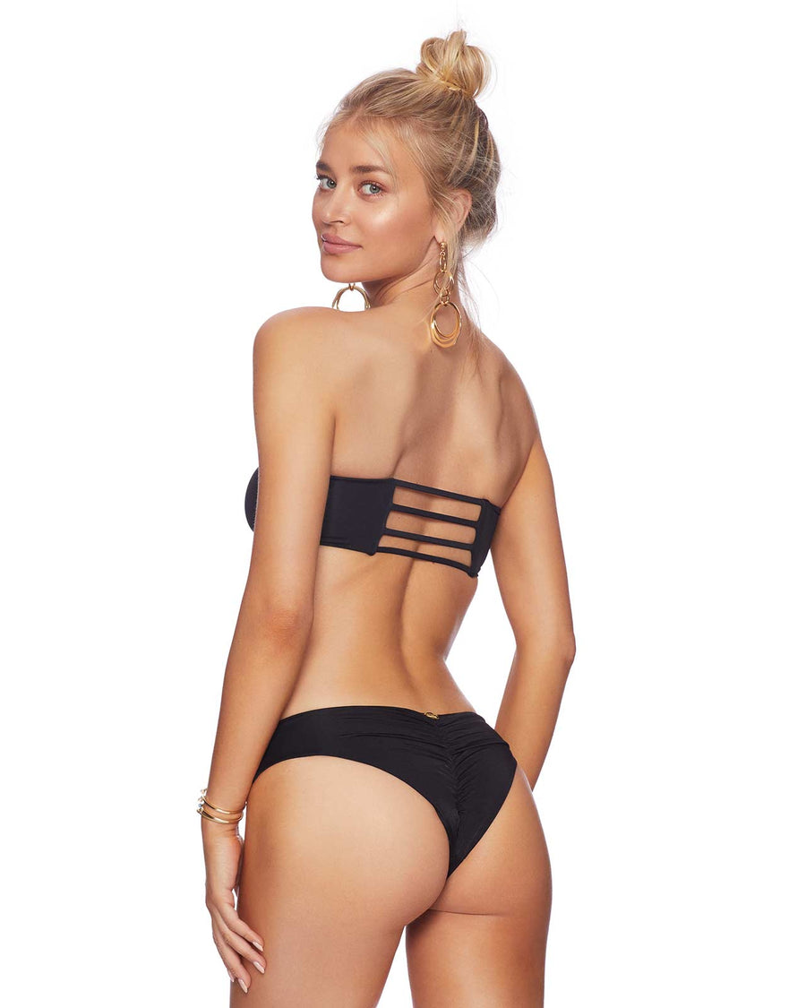 BLACK IRELAND BANDEAU BY BEACH BUNNY