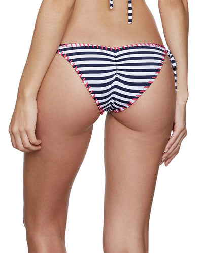 STRIPES BIKINI BOTTOM SABZ B7-18