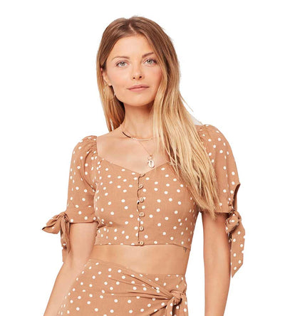 BEACHCOMBER DOT LOLA TOP LSPACE LOLTP19-BMD