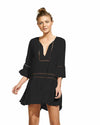 BLACK AGATA SHORT DRESS VIX 298-907-001