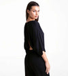 BLACK BEAUTY LONG JUMPSUIT TOUCHE 0A80001
