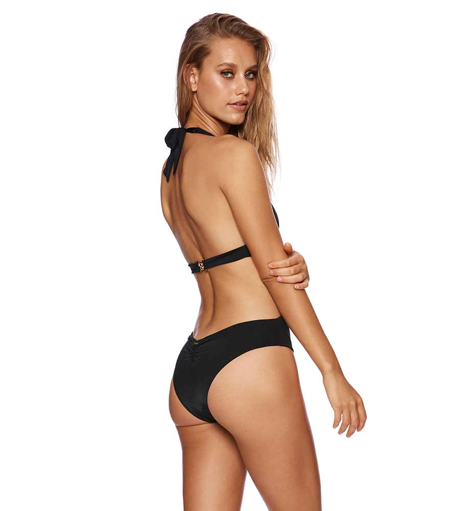 BLACK BUNNY BASICS NINA ONE PIECE BY BEACH BUNNY