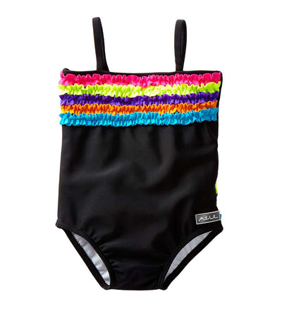 BLACK CHASING RAINBOWS ONE PIECE AZUL 2229-B