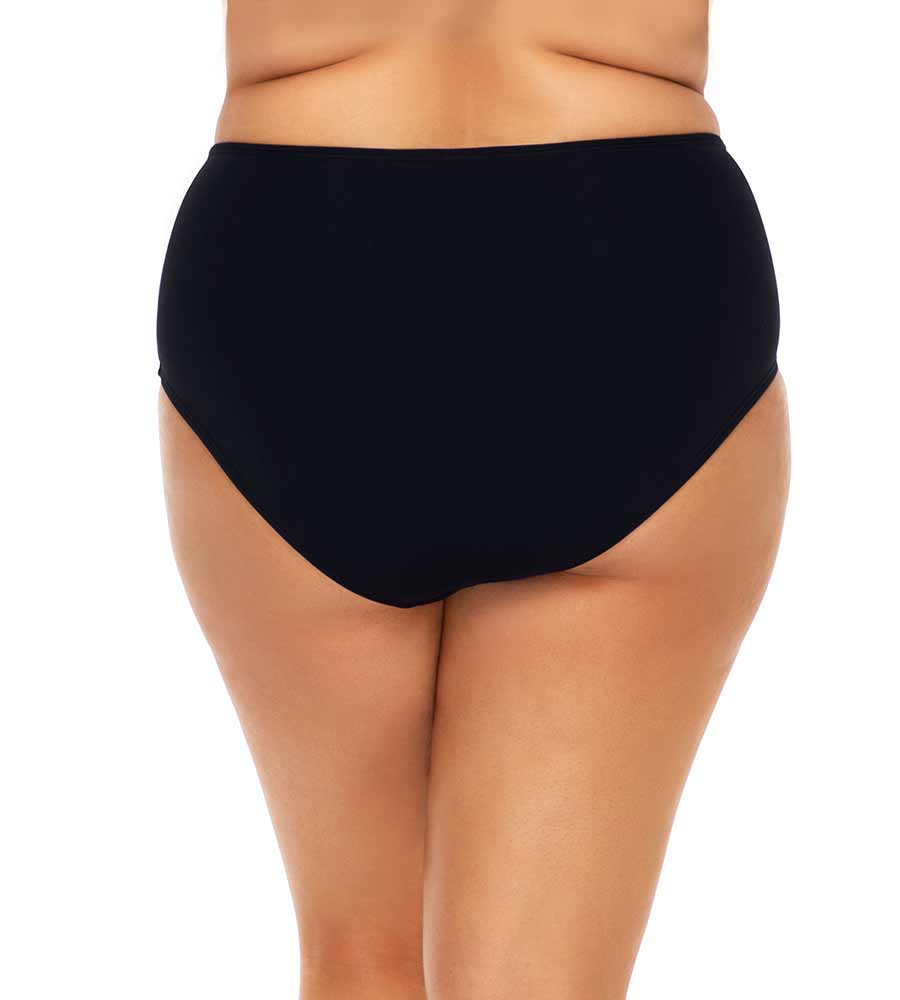 BLACK HIGH SEAS HIGH WAIST BOTTOM SUNSETS ESCAPE 97BBLCK