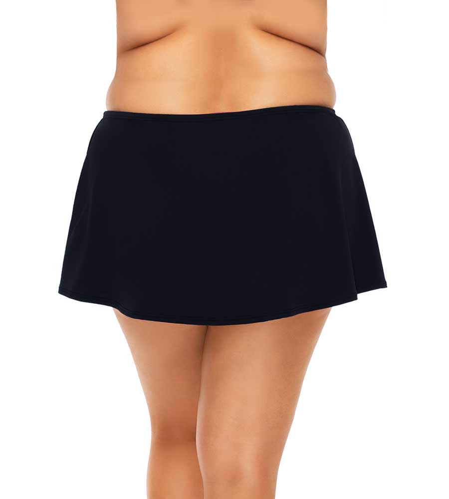 BLACK ISLAND TIME SWIM SKIRT SUNSETS ESCAPE 336BBLCK