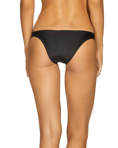 BLACK LEATHER DETAIL BOTTOM VIX 112-581-001